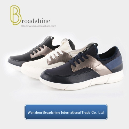 Sports Sneaker for Men and Women with PVC Injected Sole