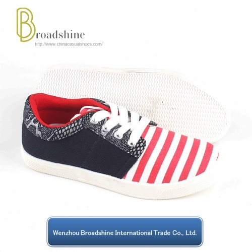 New Design Casual Shoes with PVC Injected Sole