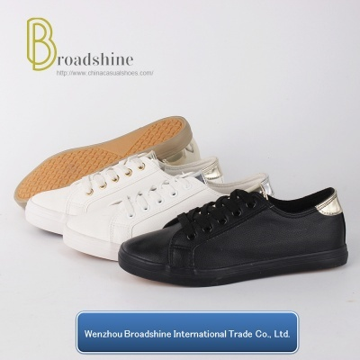 Best Selling Comfort Women Sneaker with Soft Nappa PU Upper