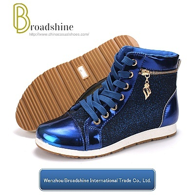 Low Price Shiny Paillette High-Top Women's Boots
