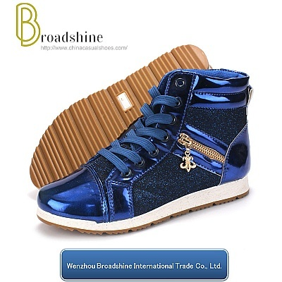 New Style Shiny Paillette High-Top Women Boot