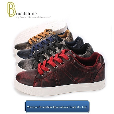 New Arrival Painting PU Leisure Shoes Winter for Women