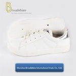 Nice Price White Shoe Womens Footwear with PVC Sole