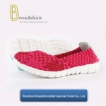 Breathable Elastic Casual Walking Footwear with Light Weight