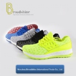 Colorful Running Casual Footwear for Woman with PVC Injected Outsole