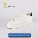 Popular Style PU Women White Shoes Platform Shoes