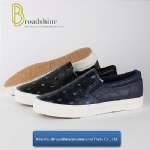 Casual Men's Footwear with Fashion PU Upper