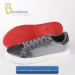 Autumn and Winter Collection Casual Sneaker with Velvet Upper