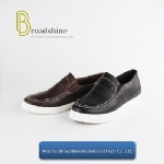 Classic Men's Loafers with PU Upper