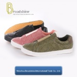 2017 New Style Slip-on Casual Men's Shoe with Embossed PU Upper