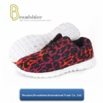 OEM Ladies Athletic Shoes with Printing Mesh Upper (ES9014)