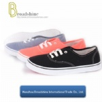 Low Price Classic Canvas Shoes with PVC Injection Outsole (ES9016)