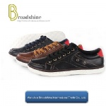 New Arrival Good Quality Men Casual Shoes with Injection Sole