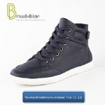 Casual Men Boots with PU Upper