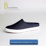Newest Canvas Loafers Semi-Slipper with Jean Upper for Men and Women