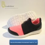 Women Sports Sneaker with PVC Injection Outsole (ES191706)