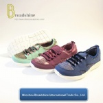 New Design Women Casual Shoes with Breathable Upper (ES191715)